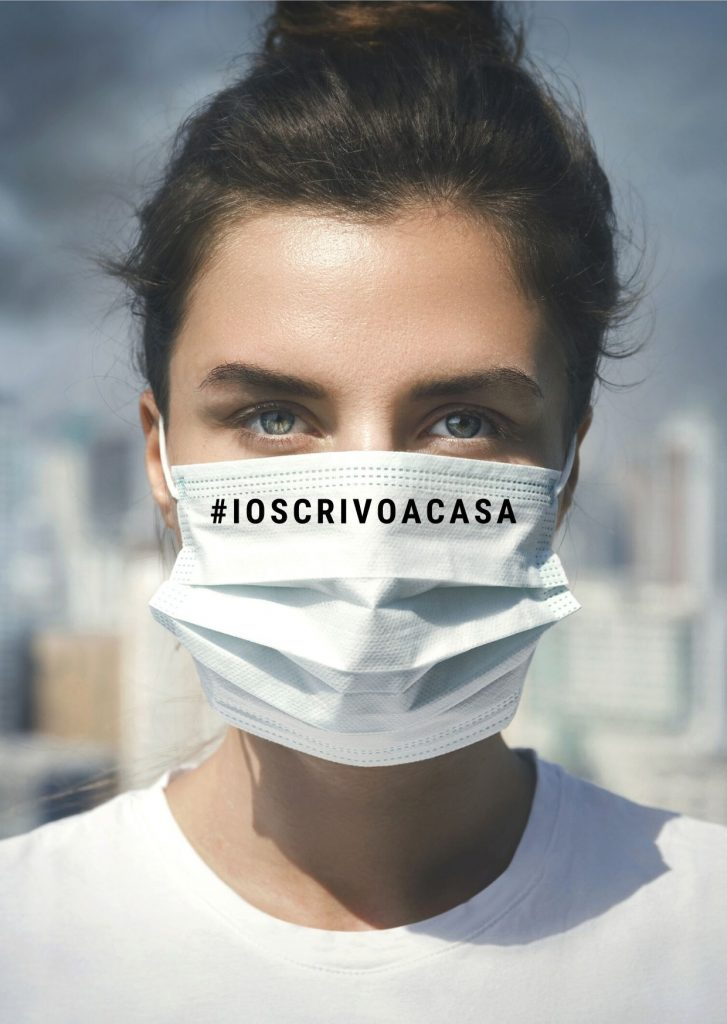 #ioscrivoacasa, Storie di resistenza al virus